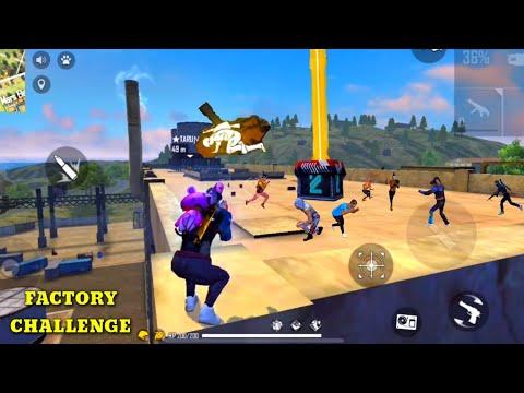 FREE FIRE AJJUBHAI94 VS ★SAROJ࿐ FACTORY FIST FIGHT BOOYAH (M82B) - FF UNBEATABLE OVERPOWER GAMEPLAY
