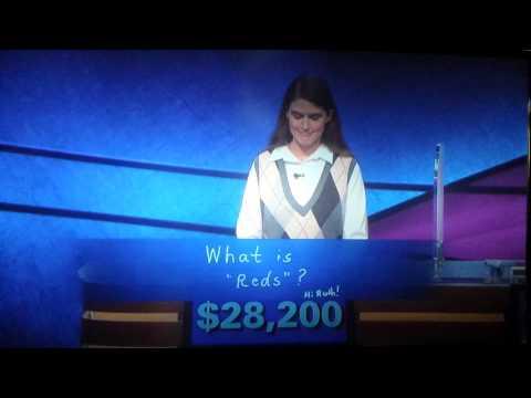 Jeopardy contestants are weirdos