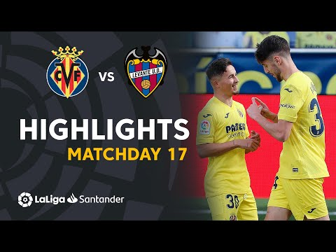 Highlihgts Villarreal CF vs Levante UD (2-1)