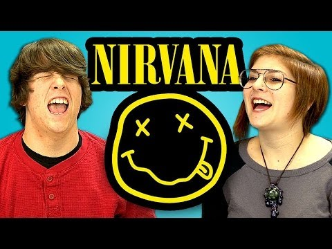 TEENAGERS REACT TO NIRVANA