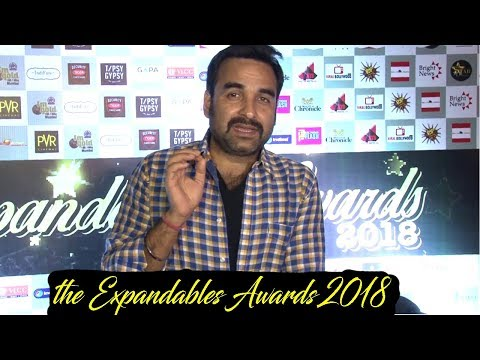 Pankaj Tripathi At Red Carpet Of Expandables Awards 2018