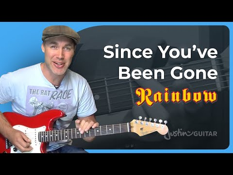 How to play Since You've Been Gone by Rainbow (Rock Guitar Lesson SB-315)