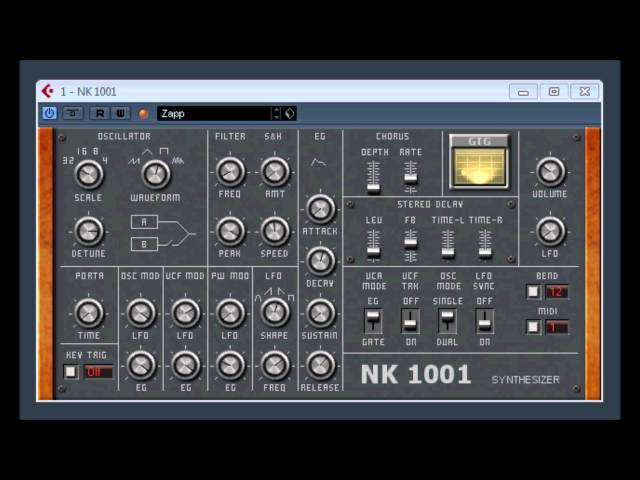 NK 1001 by GTG Synths