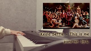 Video Keala Settle - This is me (위대한쇼맨 OST - The Greatest Showman) + 가사, 악보 (sheet) / 글로리아엘 (Gloria L.) MP3, 3GP, MP4, WEBM, AVI, FLV Maret 2018