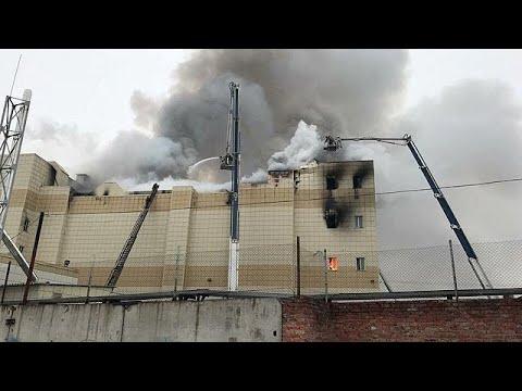 Τραγωδία σε εμπορικό κέντρο στη Ρωσία