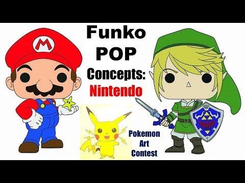 Funko POP Concepts: Nintendo (видео)