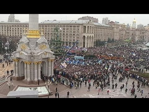 Euronews - Before Sunday's huge rally in Kyiv, Ukraine's Interior Minister Vitaly Zakharchenko warned that... euronews, the most watched news channel in Europe Subscrib...