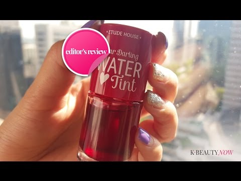 [EDITOR REVIEW] Kiss & Tell - Etude House Dear Darling Water Lip Tint