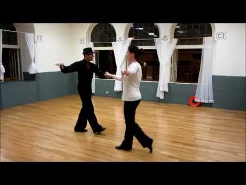 Уроки Танго. Видео мастер класс.
