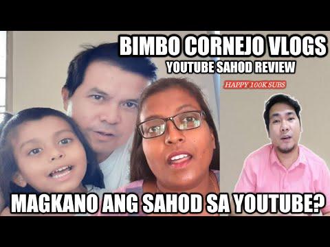 Magkano ang sahod ni Bimbo Cornejo sa youtube