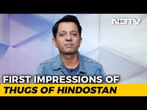 First Impressions Of 'Thugs Of Hindostan'