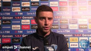 Preview video Vincent Laurini, Uros Cosic e Daniele Croce al termine di Empoli-Palermo