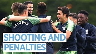 Download Video SHOOTING PRACTICE AND PENALTIES! | MAN CITY TRAINING MP3 3GP MP4