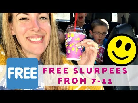 How To Get A Free Slurpee From 7 Eleven For Everyone In Your Family