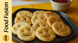 Potato Smiley Recipe By Food Fusion