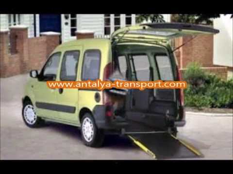 Antalya Wheelchair Access Taxis Transport