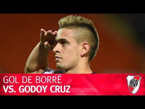 Gol de Rafael Borré vs. Godoy Cruz