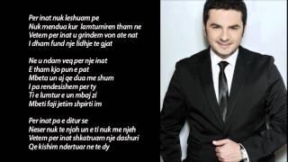 SOKOL GJAKOVA - Vetem Per Inat-(Tekst)