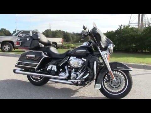 Used 2010 Harley Davidson Black  Ultra Limited for sale in Florida