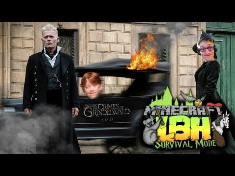 Fantastic Beasts 2 - The Crimes Of Grindelwald Trailer Reaction! | Let's Build Hogwarts LIVE #4