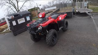 8. 2019 Honda Foreman 500 WALKAROUND— TEAM WAX OFFROAD