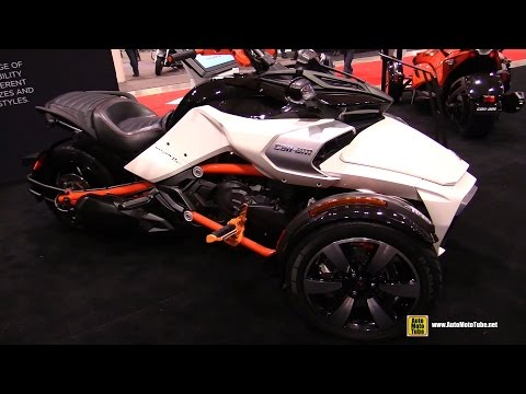 2015 Can-am Spyder F3 S - Walkaround - 2015 Toronto Motorcycle Show