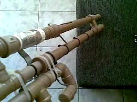 Arma de pressão caseira potente, Aracaju. disparo
