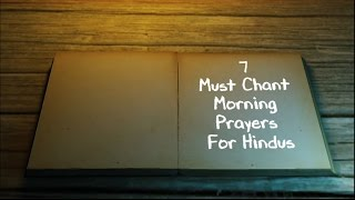 7 Must Chant Morning Prayers For Hindus