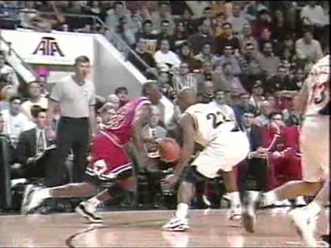 Michael Jordan Highlights (44pts-5rebs-7asts) on his 33rd B-Day vs.Pacers [02-18-96