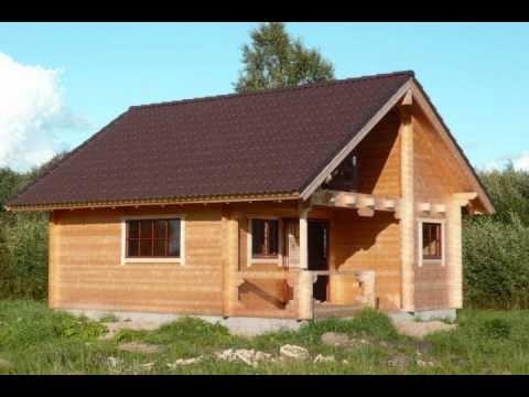 Ferienhaus als Bausatz oder aufgebaut -Blockhaus bauen-