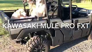 10. Kawasaki Mule Pro FXT