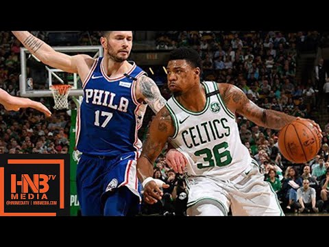 Boston Celtics vs Philadelphia Sixers Full Game Highlights / Game 2 / 2018 NBA Playoffs