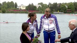 2015 Baku K2 500m Women Canoe Sprint European Games