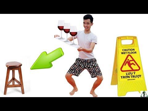 PHD | Thử Thách Giữ Thăng Bằng Trên Sàn Xà Phòng | Soap Floor - Thời lượng: 15 phút.