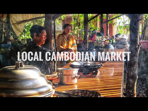 Cambodia Travel Vlog 014 - Traditional Cambodian Cooking Class