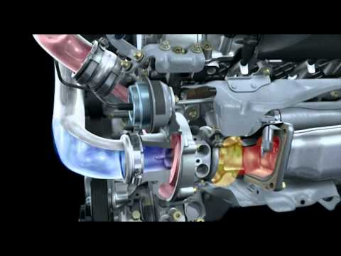 New Mercedes Benz V8 biturbo engine