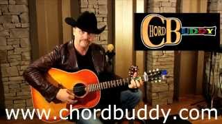 John Rich Demonstrates the ChordBuddy Clip On Guitar Tuner
