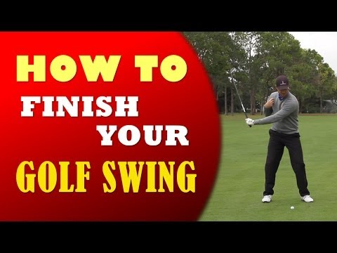 How to Finish Your Golf Swing