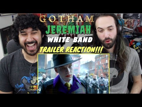 "GOTHAM Season 4 ""JEREMIAH"" White Band TRAILER REACTION!!!"