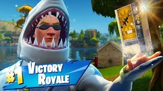 Vending Machine ONLY Challenge in Fortnite!!