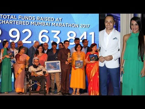 Rahul Bose | Standard Chartered Mumbai Marathon 2017 Host 14th Scmm Charity Awards
