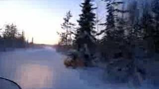 10. snow mobile riding