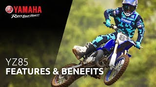 10. 2019 Yamaha YZ85 Features & Benefits