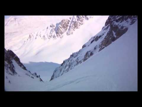 Narrated Couloir Skiing