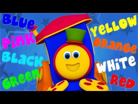 Colors Song For Children | Nursery Rhymes by Bob The Train