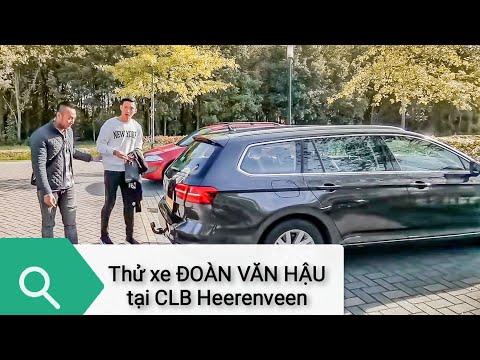 Lái thử xe riêng của Đoàn Văn Hậu tại CLB Heerenveen Hà Lan @ vcloz.com