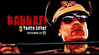 Exactly five years ago Libya's ex-leader Colonel Muammar Gaddafi was killed by the rebels who pinpointed him in drainage pipes ...
