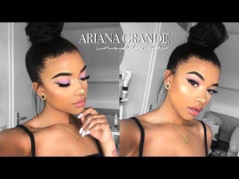 Ariana Grande Inspired Makeup & Hair (+GIVEAWAY)