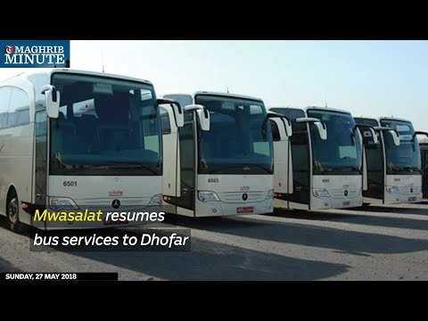 Mwasalat resumes bus services to Dhofar