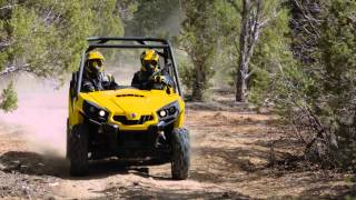 7. Can-Am Commander side-by-side vehicles lineup